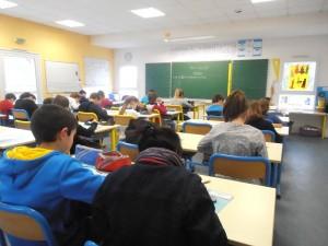 une classe de primaire