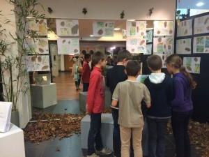 visite salon artistes classe 10