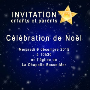 invitation messe noel